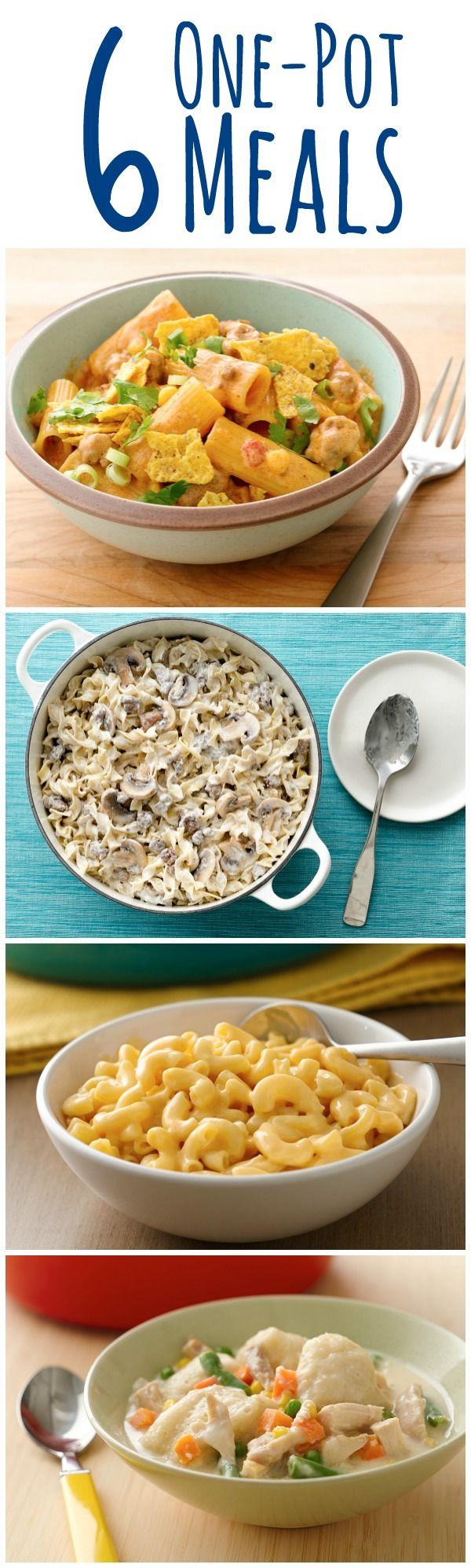 Cozy comfort food = less mess, less stress!