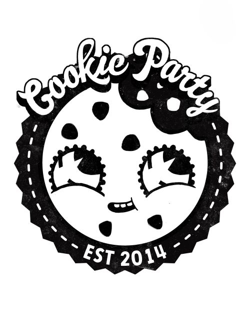 I did some fun logo/illustration work for Cookie Party, a cookie delivery service in the bay area!  Check them out here!