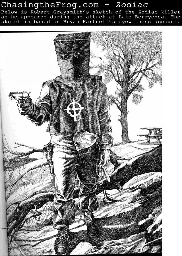 Robert Graysmith zodiac sketch