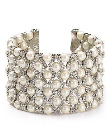 Carolee Wide Drama Cuff Bracelet | Bloomingdale's