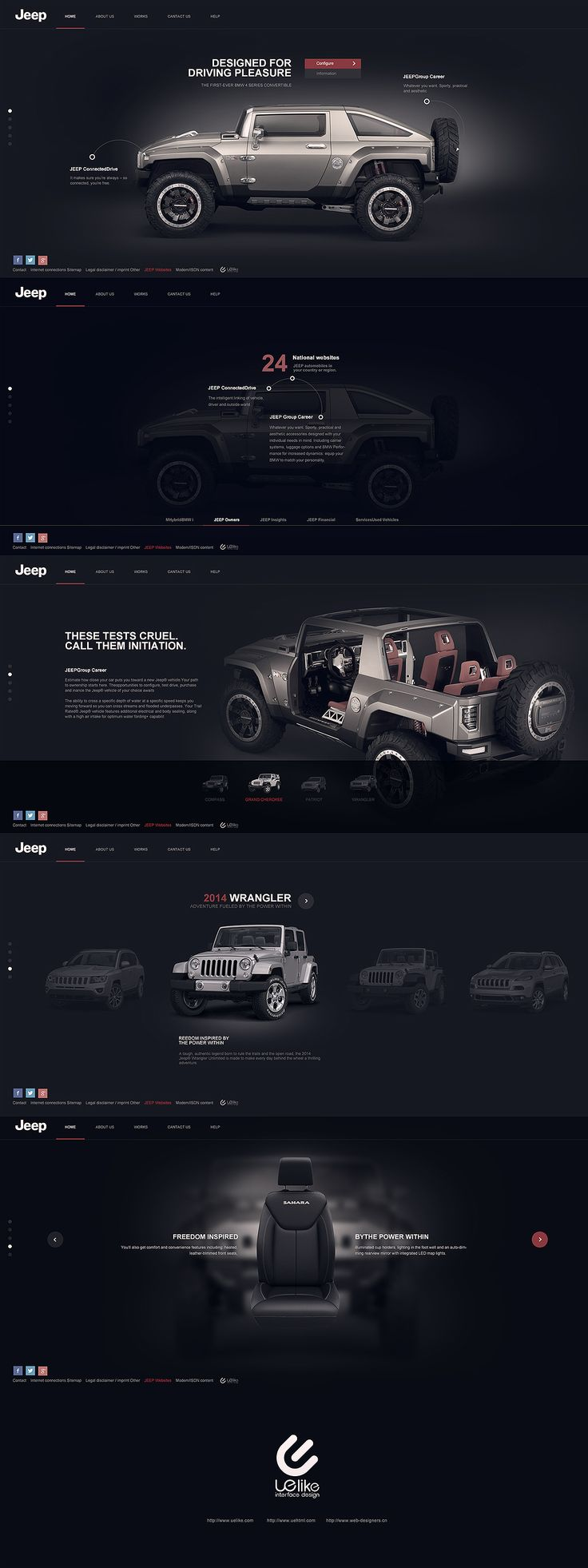 #creative #website #webdesign #design #web #internet #site #webdesigner #designer #layout #template #theme #pikock www.pikock.com #ui #ux / dark website / dark design