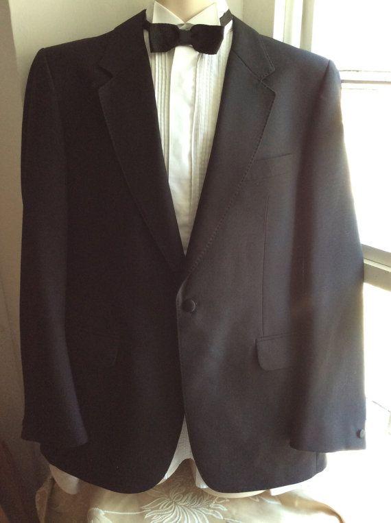 80s 90s Tuxedo dinner jacket Allander House of Fraser. 40 inch 102 cm chest Regular length.