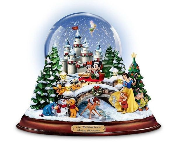 Hot new product added -  An Old Fashioned Disney Christmas Snowglobe - http://ponderosa.co/b1001/an-old-fashioned-disney-christmas-snowglobe/