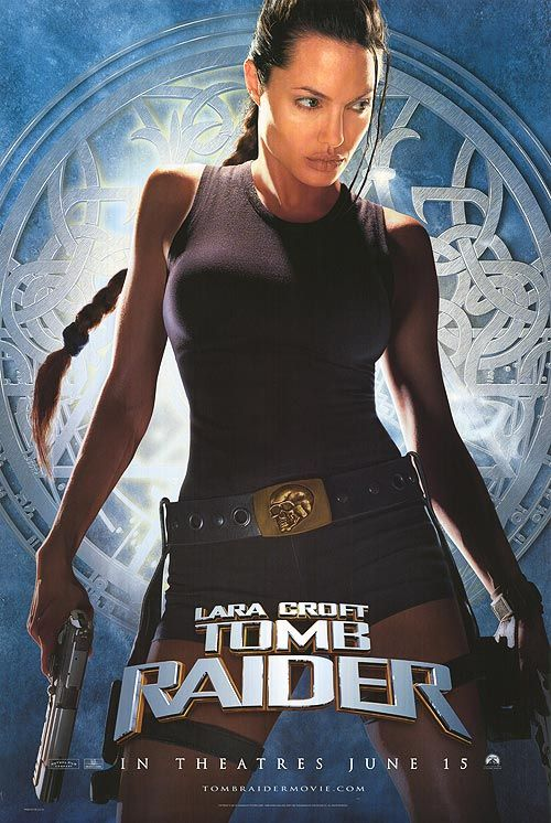 Tomb Raider Huge Movie Poster Banner (Angelina Jolie, Lara Croft, Larger Vinyl Posters)