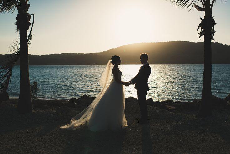 Hamilton Island | Destination Wedding | Photo collection by Samara Hook Photography #hamiltonislandwedding #travelphotographer #destinationweddingphotographer #destinationwedding #bride #groom #sunset #get married #samaraworks
