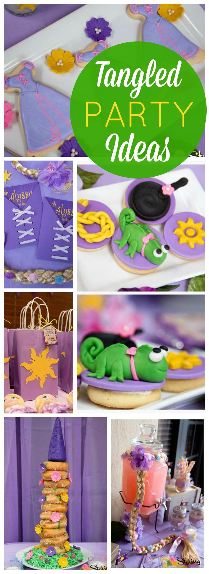 You have to see this incredible Tangled birthday party! See more party ideas at CatchMyParty.com!