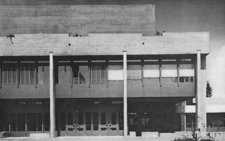 College of Economics & Social Sciences, University of St. Gallen, Switzerland, 1960's