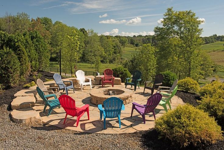 Adams Manufacturing Resin Adirondack Chair Colors - Available at Lowe's