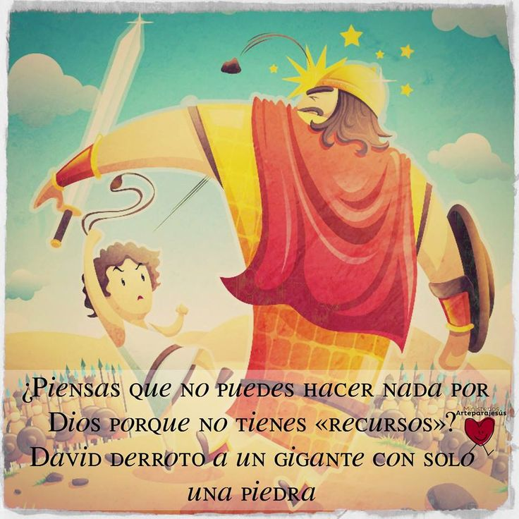 1 Samuel 17:45 Entonces dijo David al filisteo: Tú vienes a mí con espada y lanza y jabalina; mas yo vengo a ti en el nombre de Jehová de los ejércitos, el Dios de los escuadrones de Israel, a quien tú has provocado. ♔