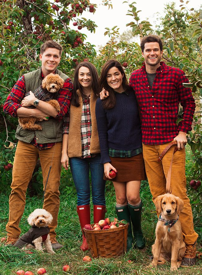 As American Apple Pie Outfits For Christmas PicturesFall Family