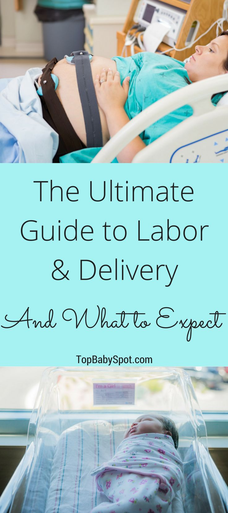 The Ultimate Guide to Labor & Delivery and What to Expect so you can be as prepared and ready for the big day as possible!  You'll be so glad you pinned this!