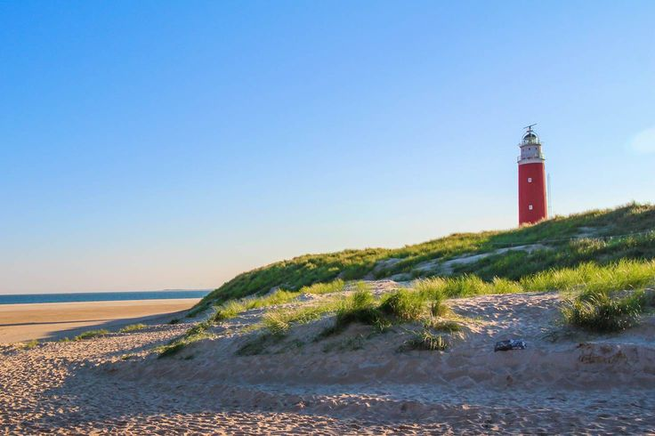 The Eierland Lighthouse on the northernmost tip of Texel © Catherine Le Nevez / Lonely Planet