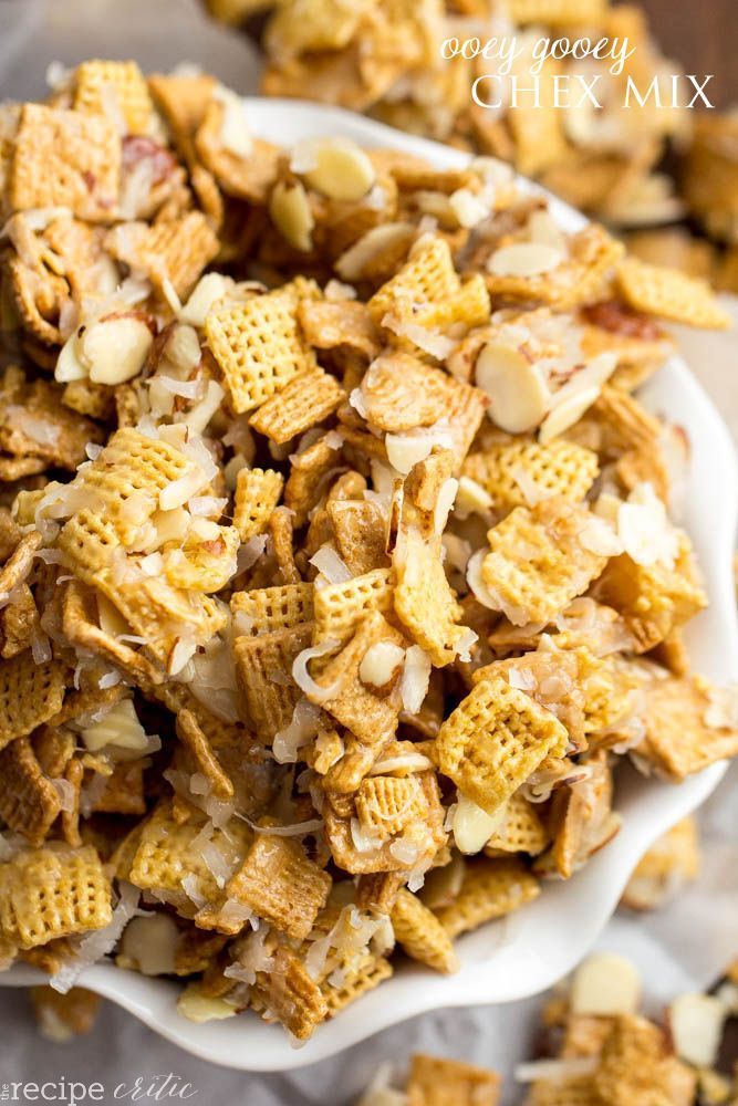 "This treat is something I look forward to every year. This Ooey Gooey Chex Mix, or also known as ""Christmas Crack"", is so good you just can't stop eating it.  When I was growing up, my neighbor would bring it to us every year for Christmas.  My family and I would devour it in …"