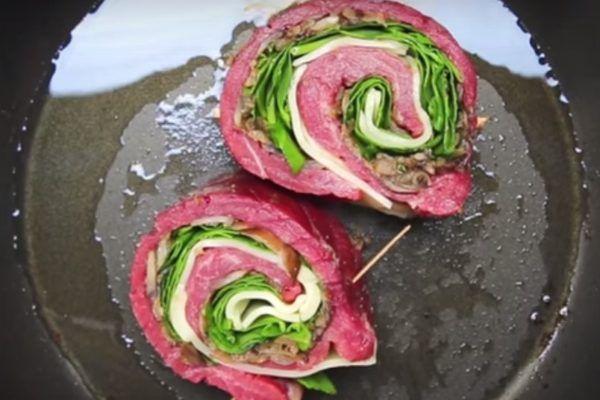 Gevulde Steak Rolls
