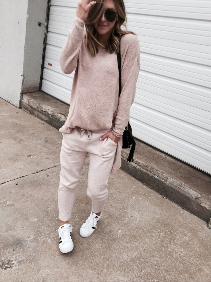 Best of blush pink joggers on the blog today and best part they are all under $50. Details on cellajane.com http://liketk.it/2qhnE @liketoknow.it #liketkit