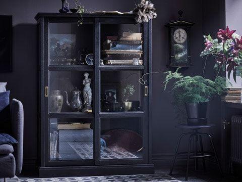 Malsjo Glass Door Cabinet In Traditional Style Offers A Fine