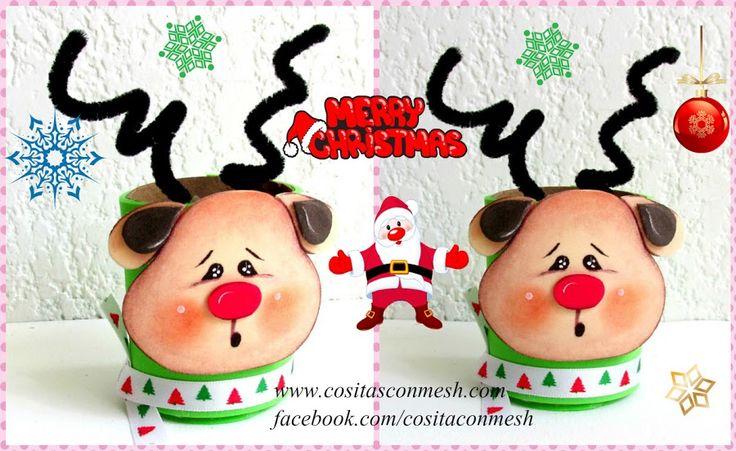 Manualidades navide as para hacer con los ni os reciclando - Manualidades con papel navidenas ...