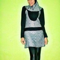 BRMD201428 Baju Renang Muslimah Dewasa Motif Abstrak beli di ellima.web.id