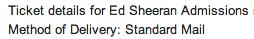 OH MY GOD :) GOT ED SHEERAN TICKETS!!!!