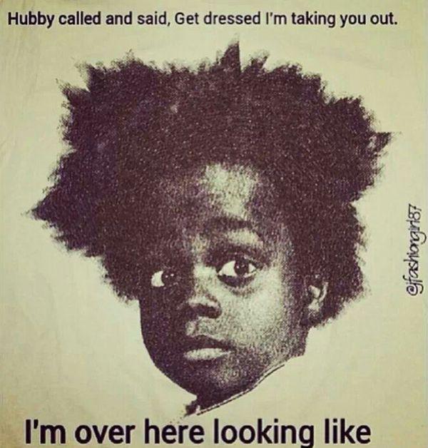 (Natural) Black Hair memes die je aan het lachen maken - MyBlackHair