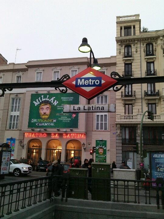 Rótulo de metro de madrid. David Menéndez.Ontdek meer vakanties, reizen, citytrips en vluchten naar Madrid, Spanje hier: http://www.travelcompare.be/products/citytrips/spanje/