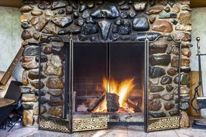 How To Clean A Stone Fireplace Stretcher Com Cleaning Stone How To Clean Stone Stone Fireplace