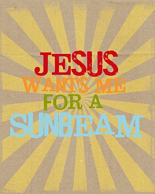 Sunbeam printable...love this one!