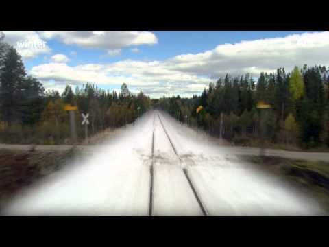Nordlandsbanen: minute by minute, season by season