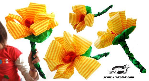 Как се прави цвете от тънка креп хартия: As Do, Paper, Crafts Flower, Paper Flowers, Tissue Flower, Hacer Flores, Diy Flower, Flowers, Yellow Flower