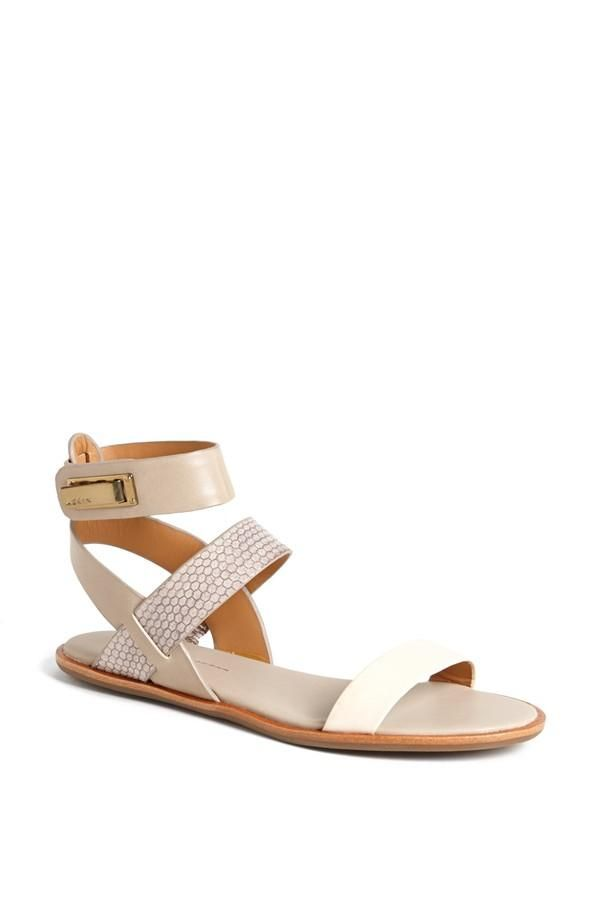 Strappy sandals are a must this Spring