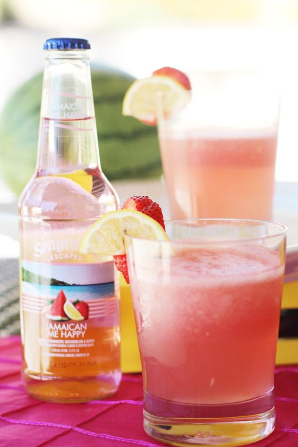 Recipe for Watermelon Cocktail with Seagram's Escapes
