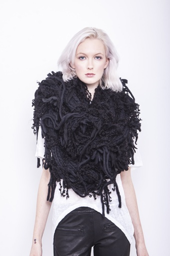 Black Rura Scarf - SALE