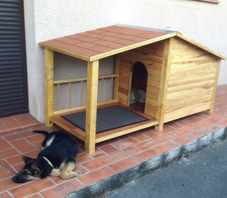 Niche en bois pour grand chien Instructions de montage...