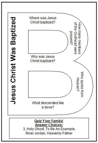 Should You Be Baptized? > Free Bible Study Guides