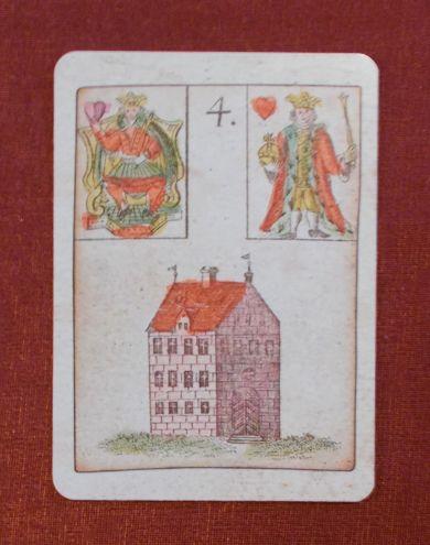 Urlenormand, Spiel der Hoffnung - House lenormand Card - Ház Lenormand kártya - Lenormand tanfolyam 2018 januárjában