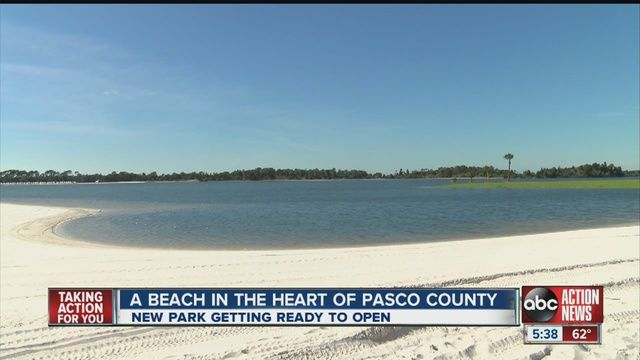 SunWest Park brings white sand beach to Pasco - Story | abcactionnews.com | Tampa Bay News, Weather, Sports, Things To Do | WFTS-TV