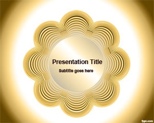 Free Yellow PPT template is a free botonier design for PowerPoint presentations that you can download now for weddings and other presentation needs