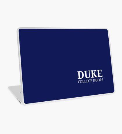 Duke College Hoops Laptop Skin