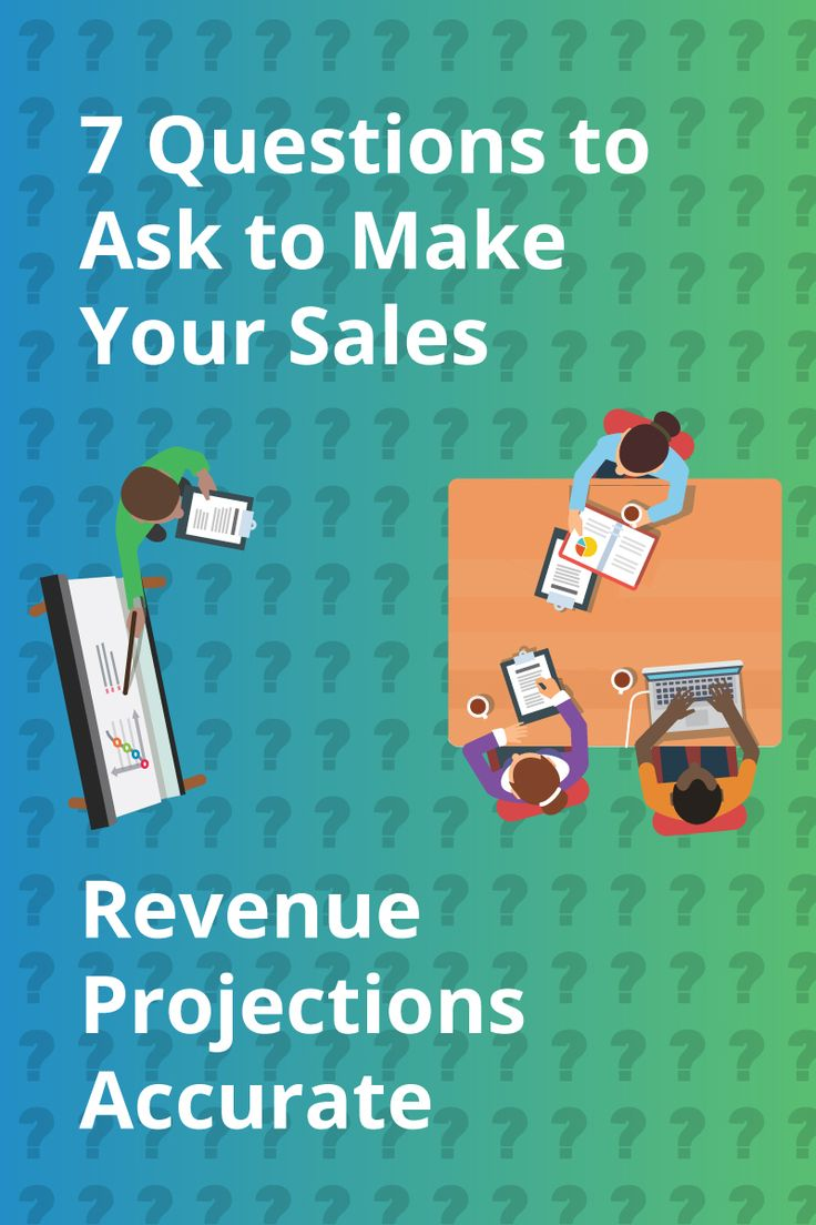 Revenue projections are the thermometer of how you run your business. Master your projection accuracy with the right relationships, and right questions.