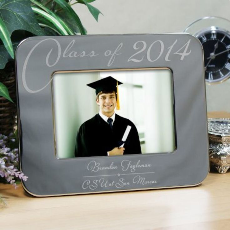 Personalized Engraved Class Of Graduation Picture Frame - Gifts Happen Here