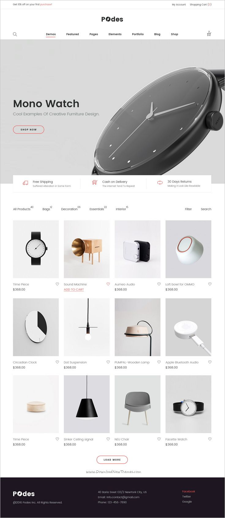 Podes is beautifully design trendy #PSD template for stunning #eCommerce #website with 31+ multipurpose homepage layouts download now➩ https://themeforest.net/item/podes-responsive-multipurpose-psd-template/18592241?ref=Datasata