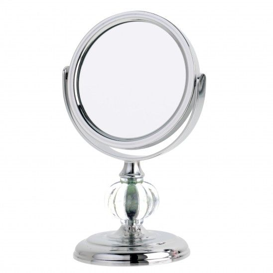 4X Magnification Mini Chrome Mirror