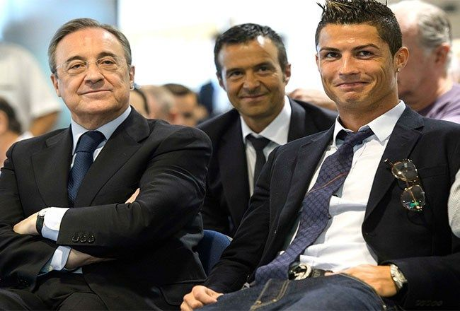 Real Madrid's President Florentino Perez five overhaul discussed with Jorge Mendes