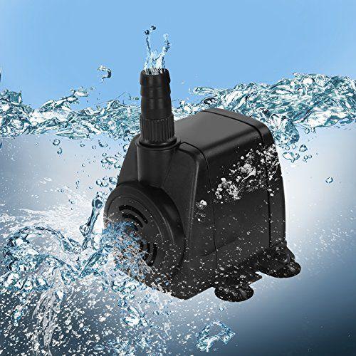 Jago – Pompe à Eau Submersible pour Aquarium Étang Fontaine 800 l/h (Débit au Choix): Price:9.95L'aquarium est un vrai petit écosystème.…