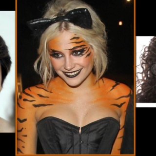 pixie lott boujis nightclub london dressed like tiger pixie lott legs - Tiger For Halloween
