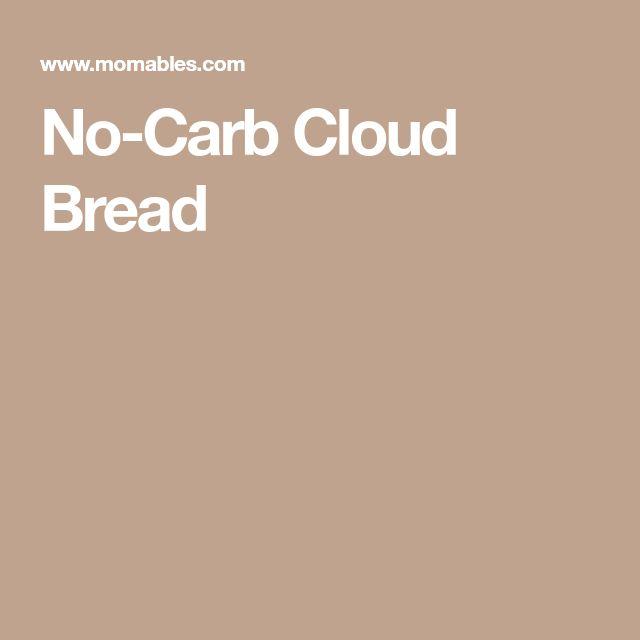 No-Carb Cloud Bread