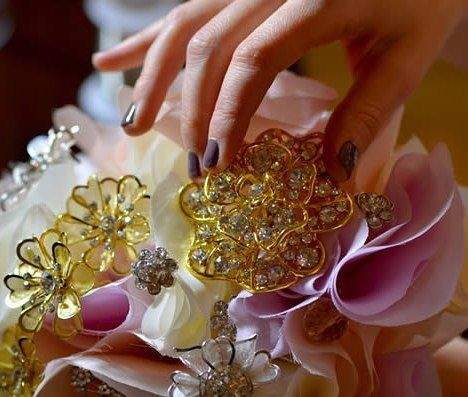 Wedding season is just around the corner! Make sure you address all the brides-to-be and add this gorgeous #vintagebrooches #bridalbouquet to your inventory! Bring joy and be a part of the couple's happiness! https://goo.gl/hup4mS Check out this #tutsplus tutorial!  #makealivingdoingwhatyoulove #turnyourhobbyintoacareer #beyourownboss #usesoldigo