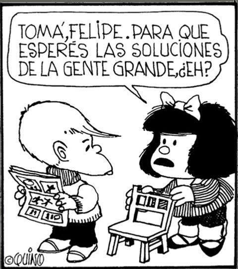 .Talento Argentino.        Mafalda por QUINO
