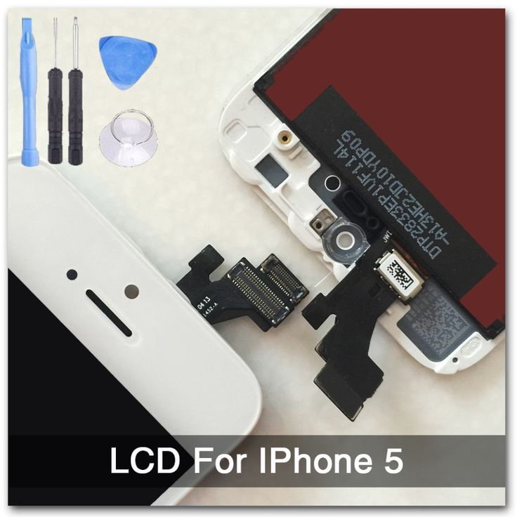 White 100 Guarantee A Display for Iphone 5 LCD Touch Screen Digitizer Assembly Tools With Original