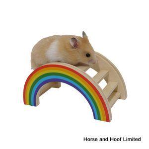 Rosewood Boredom Breaker Rainbow Play Bridge Boredom Breaker Rainbow Play Bridge is for hamsters gerbils and…